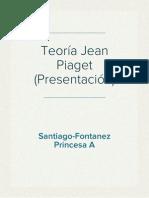 Teoría Jean Piaget (Presentación)