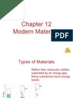 CH 12 Modern Materials