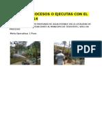 Relacion de Obras en Proceso y Terminadas 2014