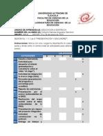 Formato de Autoevaluación Sesión 1 y 2 de 8