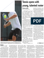Mens Tennis Season Preview