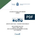 Aviation Investigation Report A13P0278