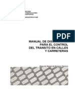 Manual de Dispositivos Para El Control Del Transito en Calles y Carreteras