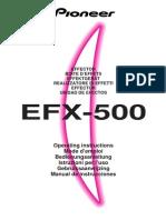 efx-500-eng-spa user's manual