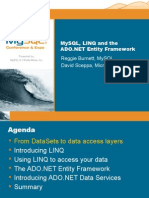 MySQL, LINQ and the ADO NET Entity Framework