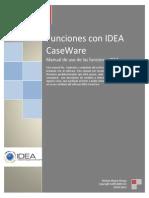 Funciones con Data Analysis software IDEA
