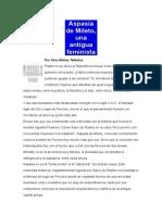 Aspasia de Mileto Entrevista Con La Historia