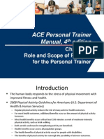 ACE Personal Training Manual 4th Edition