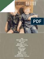 Digital Booklet - Settle
