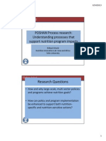 PoSHAN Policy Research