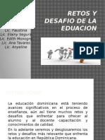 retos y desafios de la educacion dominicana