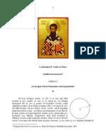 Cosmologia Sf. Vasile cel Mare