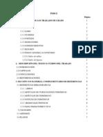 Normas Organizacion Indice