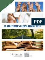 Plataformas Legislativas 2015-2018. Diputados El Salvador