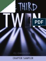 The Third Twin by CJ Omololu