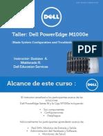 Training (Workshop) PowerEdgeM1000E