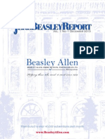 The Jere Beasley Report, Dec. 2013