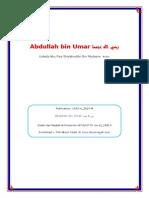 Biografi Abdullah-bin Umar