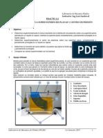 Instructivo Practica 2 Fuerza Hidrostatica Sobre Superficies Planas Sumergidas y Centro de Presion