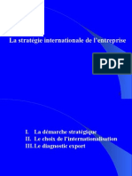 Stratégie d'Internationalisation
