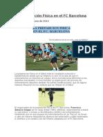 La Preparación Física en El FC Barcelona