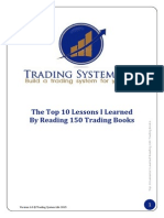 Top 10 Lessons From 150 Trading Books