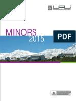 Folleto Minor 2015