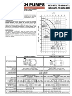 Pump Technical Information from March Pumps Series MDX-MT3