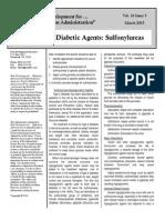 2015 03 AntiDiabetic Agents- Sulfonylureas