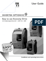 Manual Ingles de Drive Optodriver- Variador 220