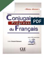 Conugaison progressive du français