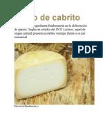 Cuajo de Cabrito