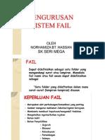 Pengurusan Sistem Fail