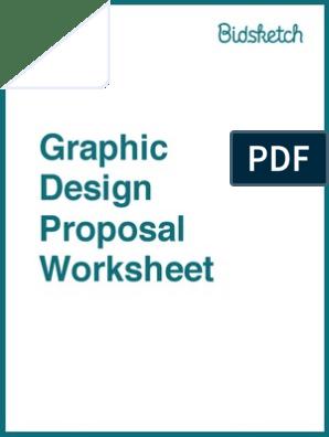 Graphic Design Proposal Worksheet Responsive Web Design