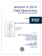 Separation in 2014 Oilfield Operations - Myths vs Reality