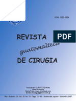 Revista de cirugia general