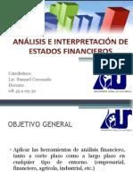 Introducción Análisis de Estados Financieros