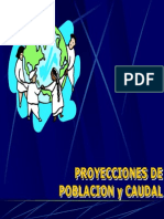 Proyecciones Caudal
