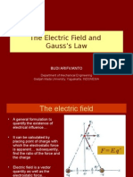 Chapter 2. Electric Field and Gauss's Law