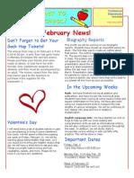 february news letter