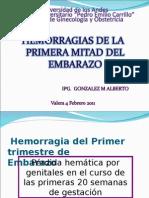 Hemorragias Del Primer Trimestre de Embarazo[1]