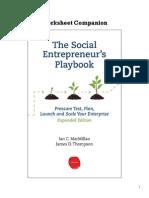EIP Worksheet Companion Social Entrepreneurs Playbook v1 2