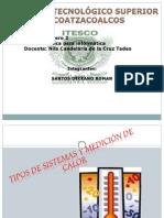 TIPOS DE SISTEMAS DE MEDICION DE CALOR
