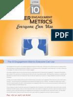 Engage metrics