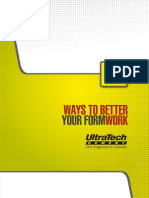 Ways to Better Your Formwork