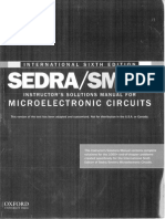 207588982 Microelectronic Circuits Sedra Smith 6th Edition Solution Manual for INTERNATIONAL EDITION