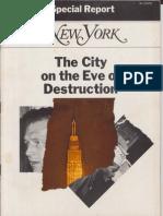City On The Eve Of Destruction