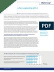 Best Companies for Leadership 2014 Executive Summary