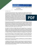 Comité de Derechos Económicos, Sociales y Culturales considera el informe de Paraguay