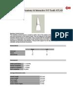 Dental Anatomy & Interactive 3 - D Tooth Atlas